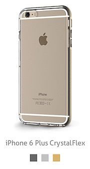 Gadgeo product photo of an iPhone 6 crystal clear transparant clear case cover